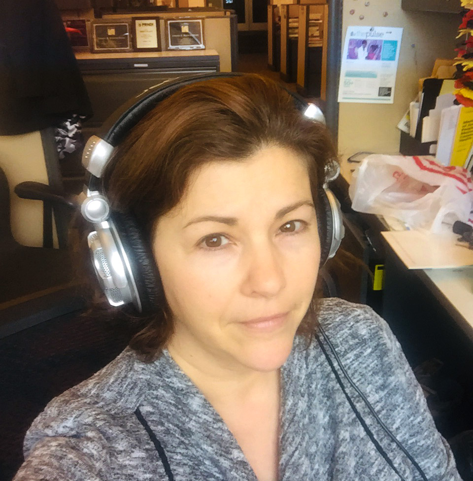 Maiken Scott, host of 'The Pulse,' is still working at the empty WHYY station