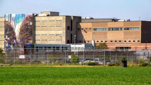 Riverside Correctional Facility on State Road in Philadelphia