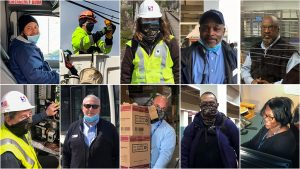 Some of the essential workers keeping SEPTA running