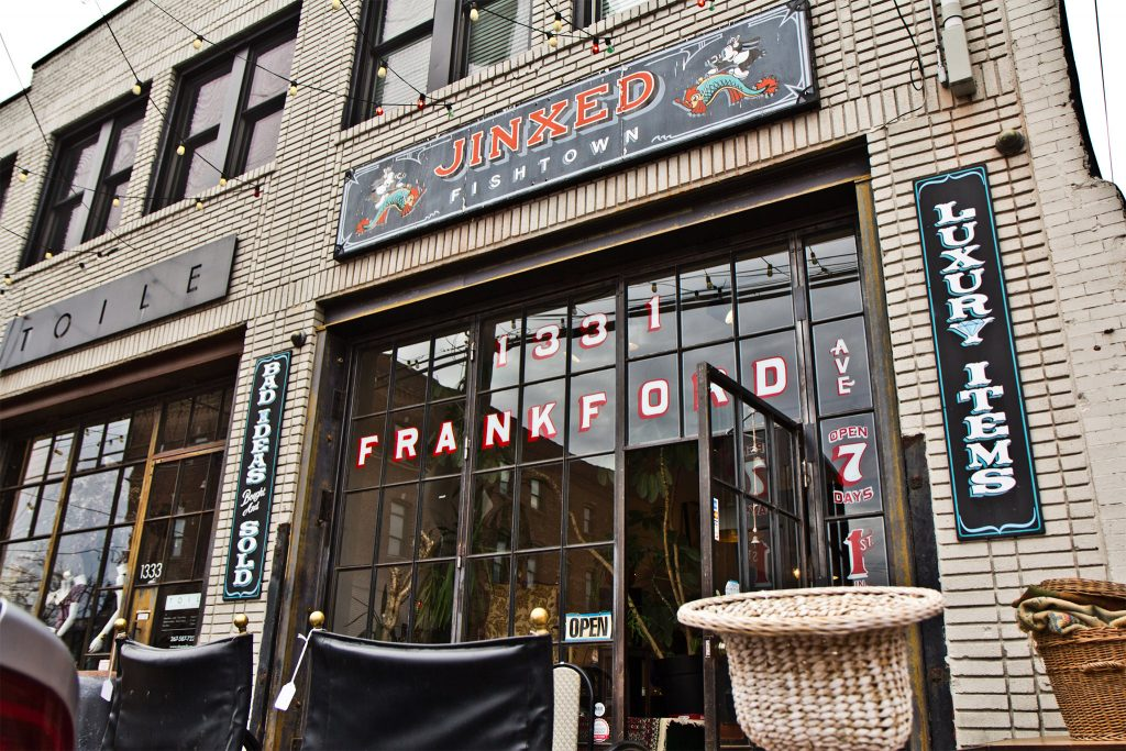 Jinxed on Frankford Avenue in Fishtown