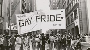 Philly's gay pride parade in 1972 marched from Rittenhouse Square to Independence Hall