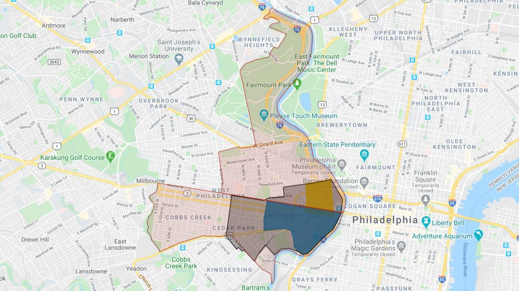 The University City area is one of the most heavily patrolled in Philadelphia
