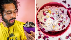 Vannah Banana founder Kianu Walker and his vegan ice creams