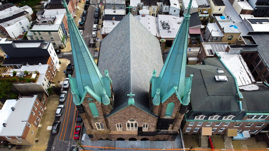 St. Laurentius from above