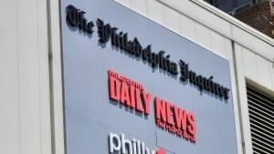 The Philadelphia Inquirer headquarters on Market Street in Center City