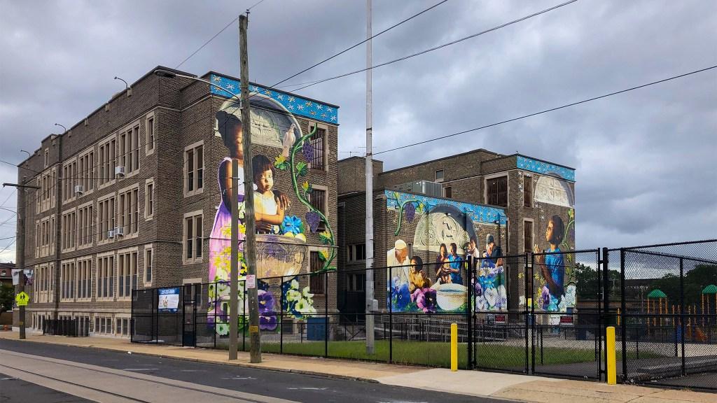 St. Malachy School in North Philadelphia