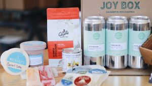 The 'Joy Box' includes products from a variety of Philly producers