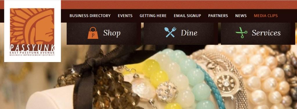 East Passyunk Avenue Business Improvement District website