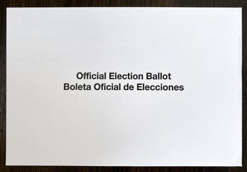 This is the envelope you might overlook — so make sure to use it, or your vote won't count