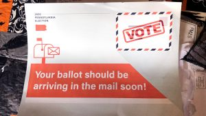 You can say that again. This unofficial mailer arrived at my home the same day my 2020 ballot was returned, unopened and uncounted.