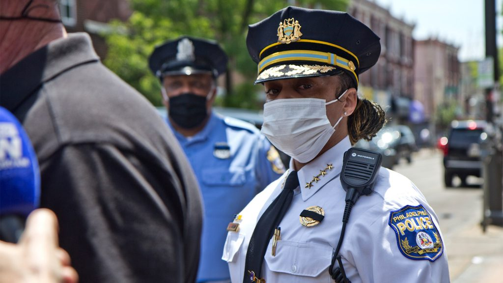 Police Commissioner Danielle Outlaw in June
