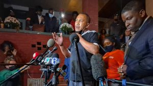 Walter Wallace Sr. speaks to the media the day after his son was shot by Philly police officers