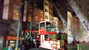 Firefighters were able to bring the Nov. 19 fire at 1208 Walnut St. under contraol