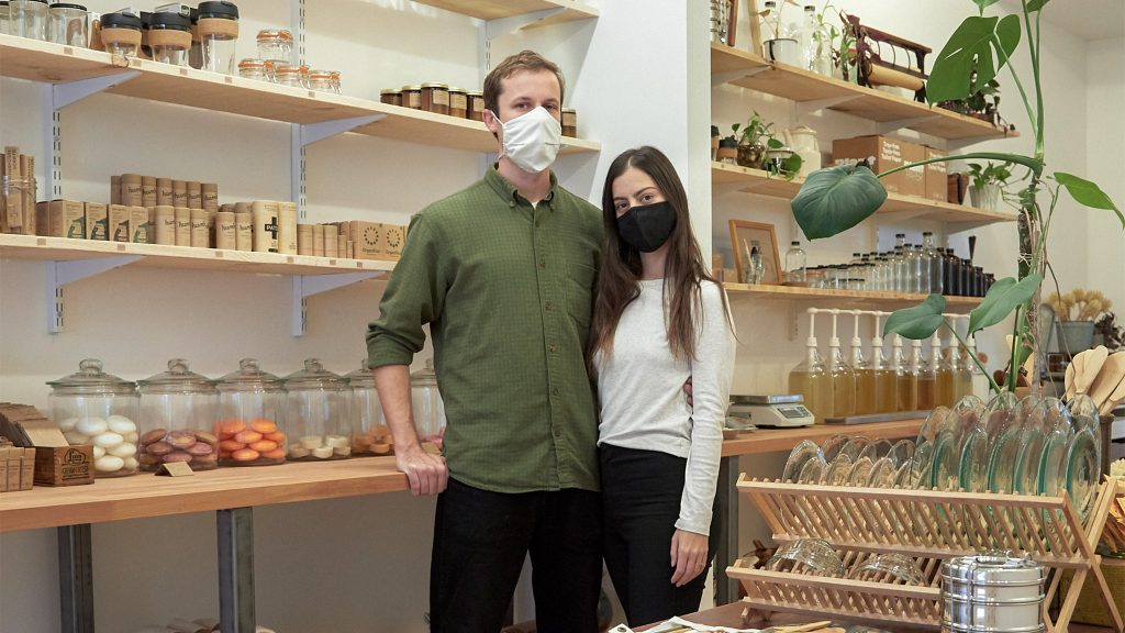 Emily Rodia and Jason Rusnock of Good Buy Supply