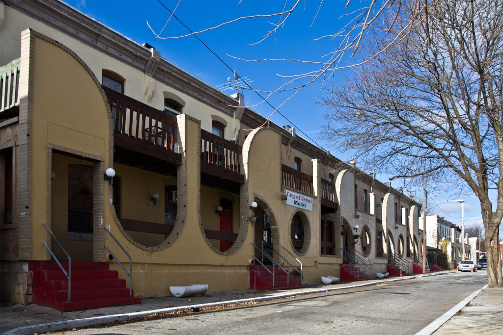 House of Umoja remodeled its more than 20 properties on West Philly's North Frazier Street to model the Malian city of Djenné