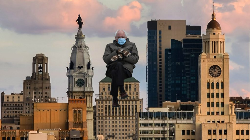 45 Philly-specific Bernie Sanders mittens memes - On top of Philly news