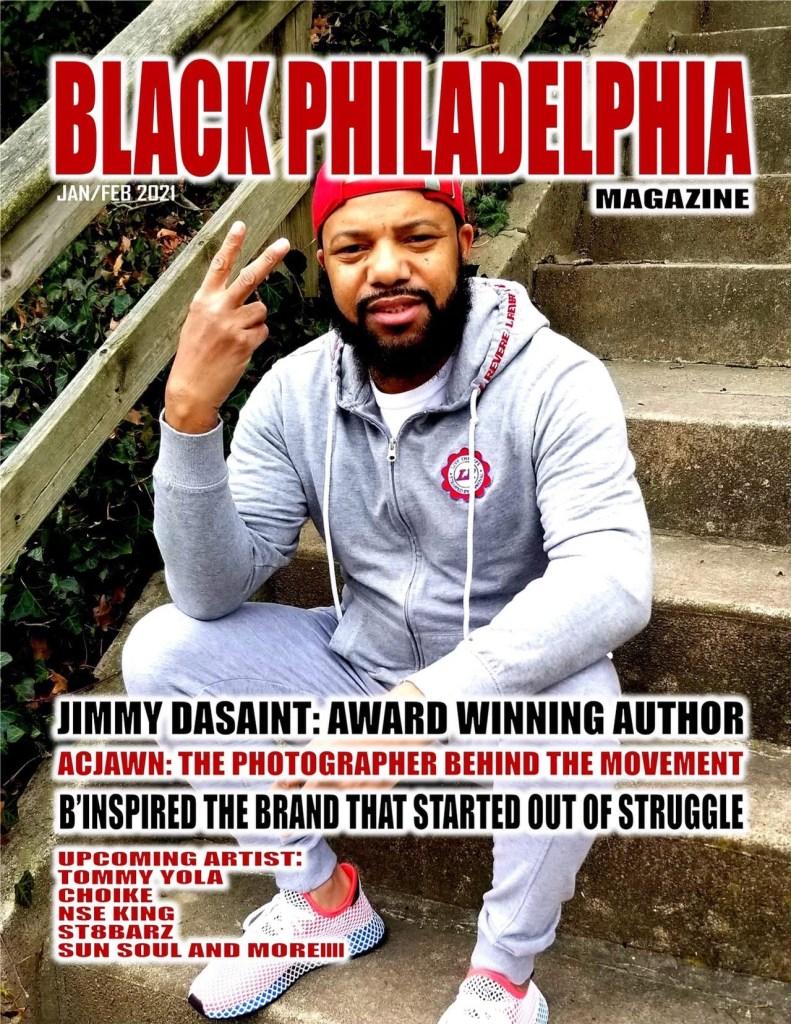 Black Philadelphia Magazine's first cover