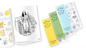 'Draw to Action' coloring book features Philly artists and supports Philly nonprofits