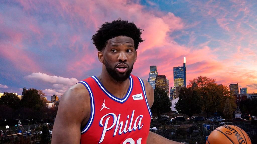 Philadelphia 76ers center Joel Embiid, the crown jewel of The Process