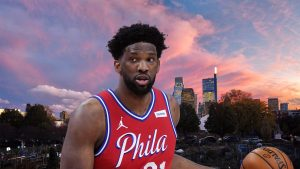 Philadelphia 76ers center Joel Embiid, the crown jewel of The Process