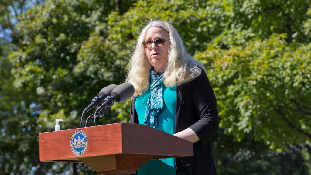 Pa. Health Secretary Rachel Levine gained renown as the face of the commonwealth's COVID response