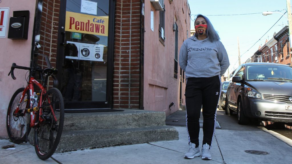 Sinta Penyami of Modero&Co is working with Philadelphia's new Office of Worker Protections to educate he Indonesian community about labor law