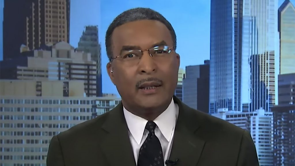 "CBS 3 evening anchor Ukee Washington became emotional thanking viewers and colleagues for their support. ""Deep in my heart, I do believe we shall overcome,"" he said, quoting MLK. ""We must."""