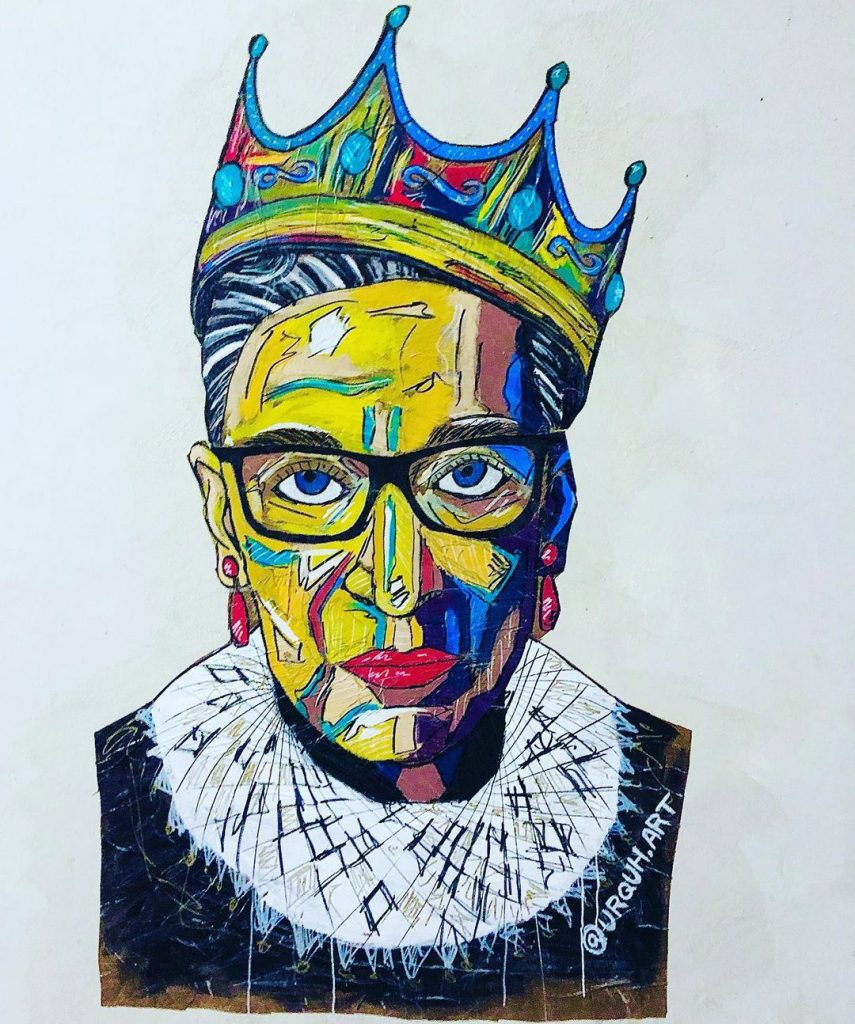 The Notorious RBG by URQUHART