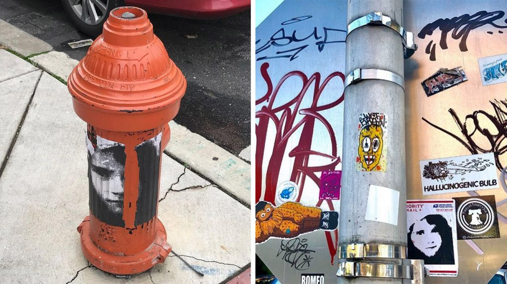 The creators say the sticker has even spread beyond Philadelphia