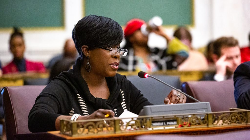 Councilmember Cherelle Parker in 2019