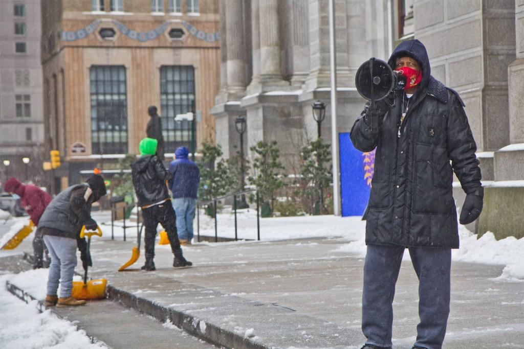 Jamal Johnson spent 26 days on hunger strike to get the mayor to act on gun violence