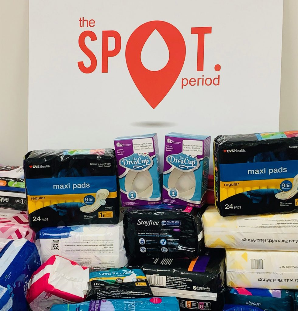 Along with free supplies, The SPOT offers clean, working toilets, counseling and a place to relax