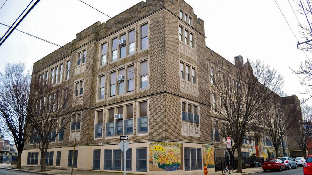 Andrew Jackson Public School at 1213 S. 12th St.