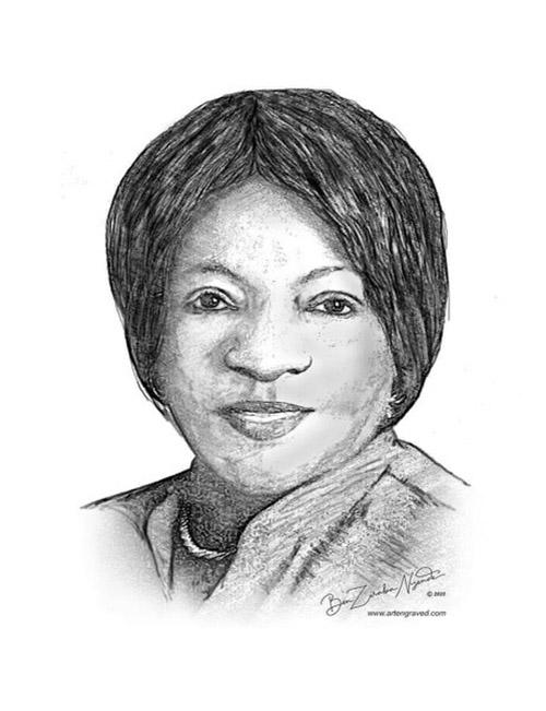 A portrait of Joan Kigozi