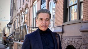 Carlos Vega is a candidate for Philadelphia District Attorney, challenging incumbent Larry Krasner. (Emma Lee/WHYY)