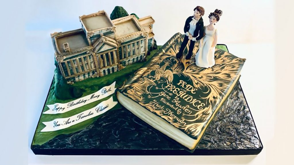 Night Kitchen Bakery's 'Pride and Prejudice' cake was one of its first large orders in a year