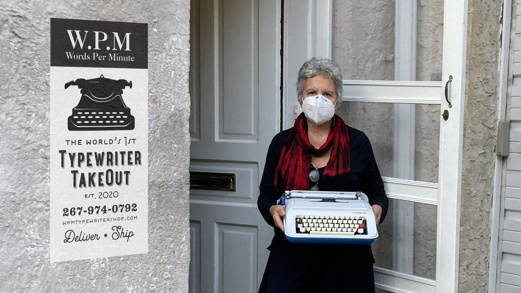 W.P.M.'s Pamela Rogow launched a 'typewriter takeout' rent-to-buy program during the pandemic
