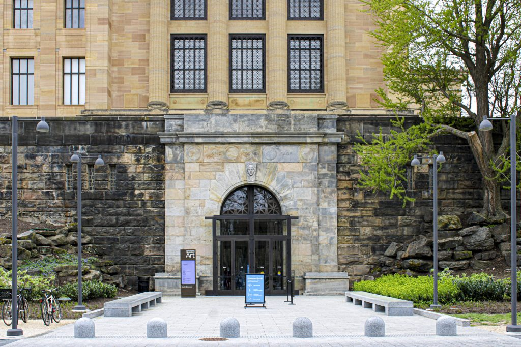 The new North Entrance at the Philadelphia Museum of Art