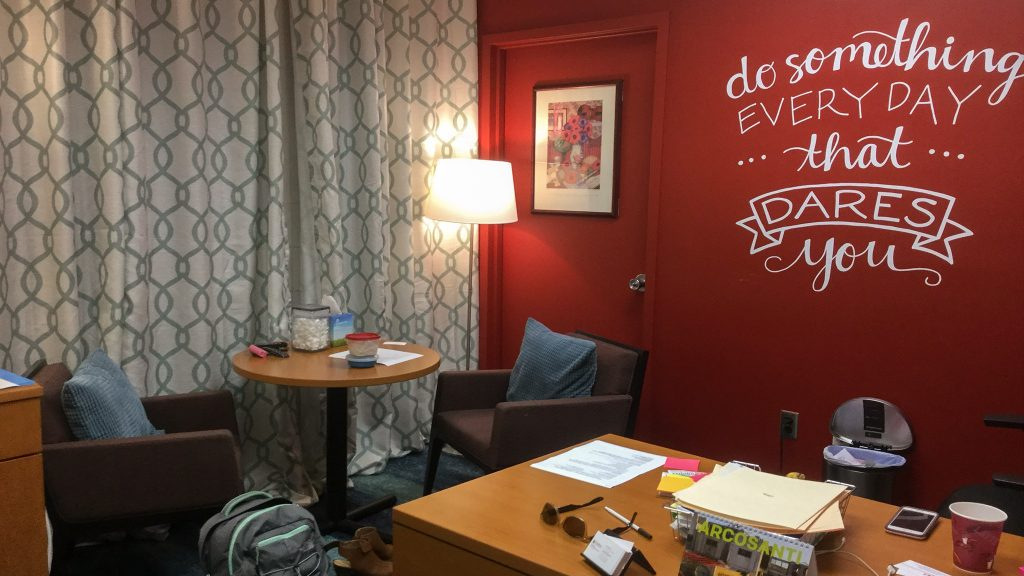 Office of Lu Ann Cahn, Temple University's Klein College Director of Career Services