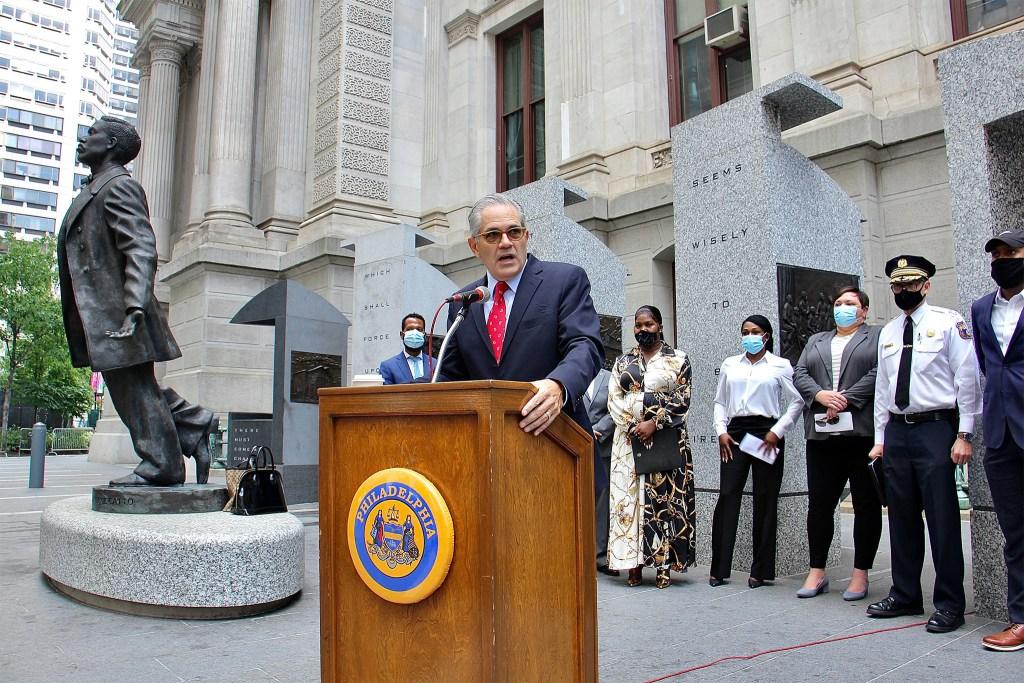 Philadelphia DA Larry Krasner talks about the murder of trans woman Mia Green