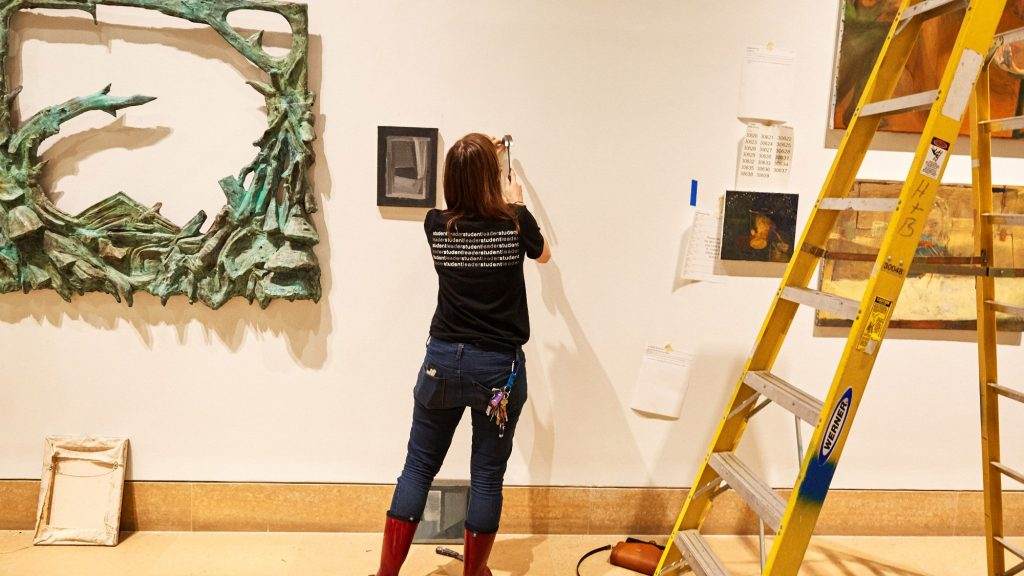 The annual student exhibition is an academic capstone event offering PAFA's emerging artists the opportunity to curate, install, and sell work in the nation's first art museum