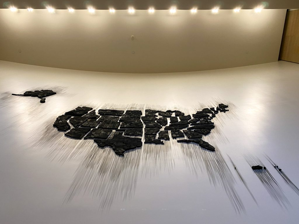 'Fire (United States of America)' by Teresita Fernández, in the Williams Forum
