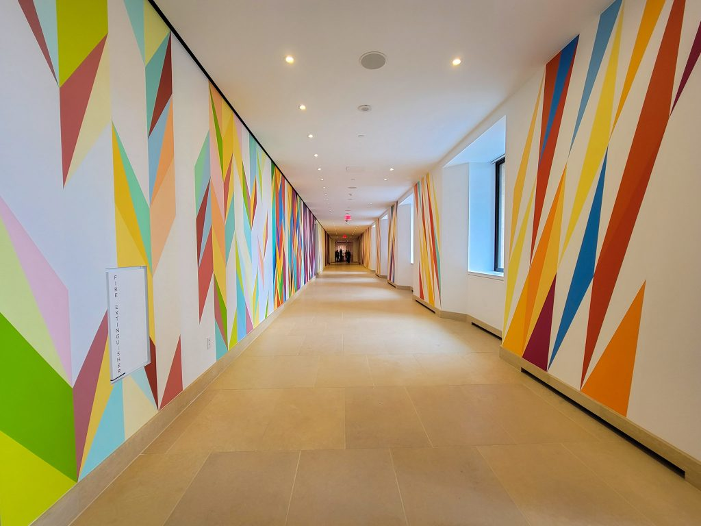 'Walls of Change' by Odili Donald Odita, in 'New Grit'