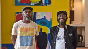 The Modern Republic co-owners Steven Brown (left) and Kenya Abdul-Hadi (right)