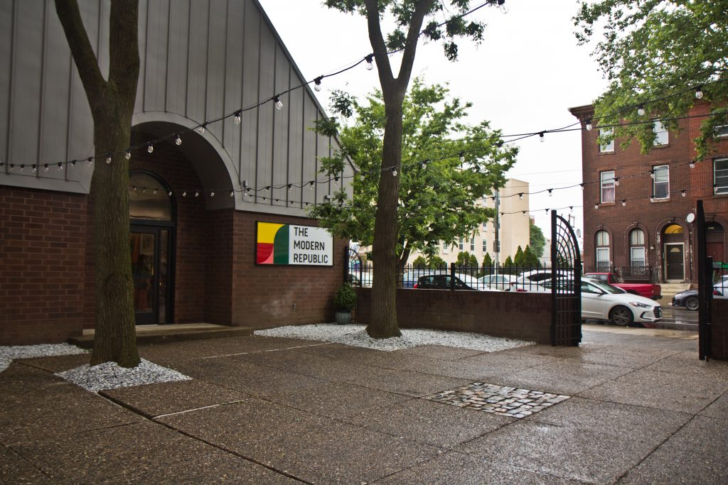 The Modern Republic entrance on the 1600 block of West Girard