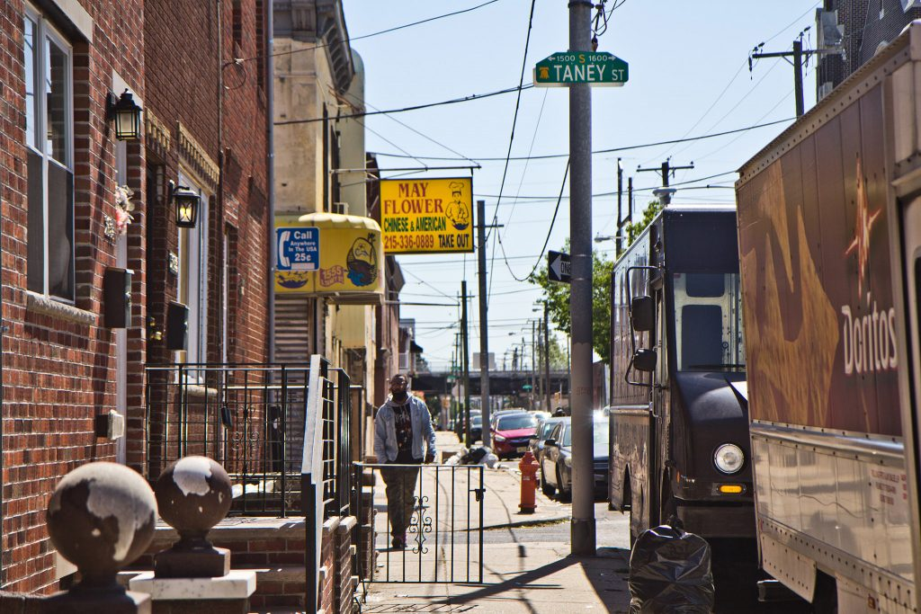 Taney and Tasker streets in South Philadelphia