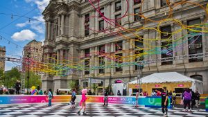 The Rothman Roller Rink at Dilworth Park