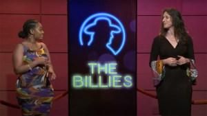 Billies co-hosts Sakeenah Benjamin and Danya Henninger