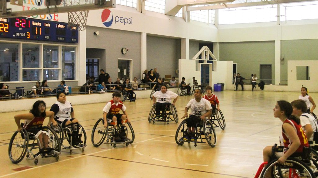 The 19th annual Katie Kirlin Junior Wheelchair Basketball Tournament took place at Carousel House in 2017