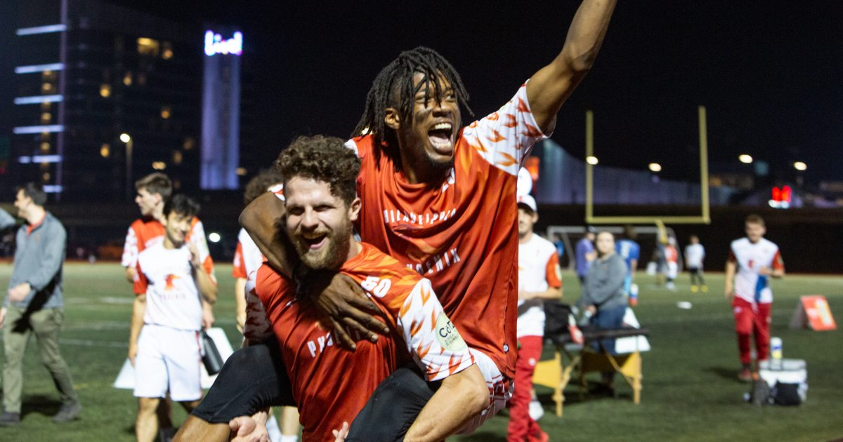 Ultimate frisbee shines in South Philly as Phoenix beat Tampa Bay in home opener